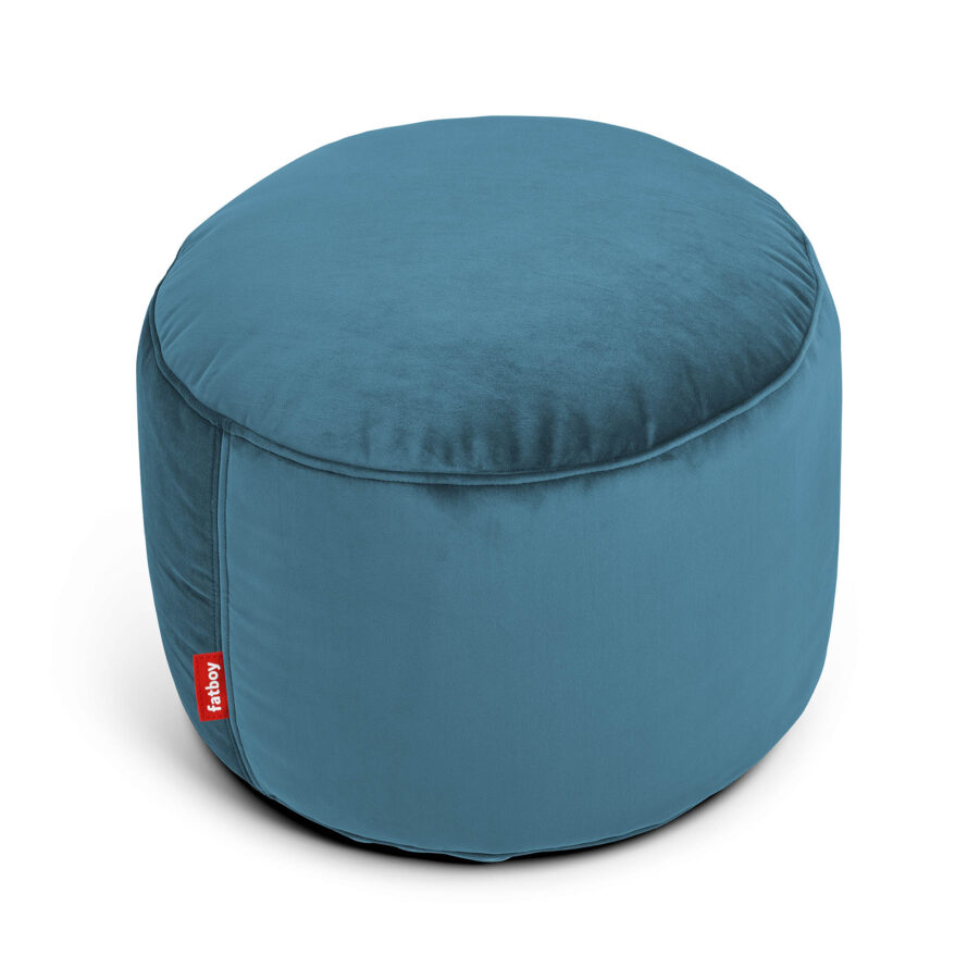 Fatboy Point velvet sittpuff recycled cloud