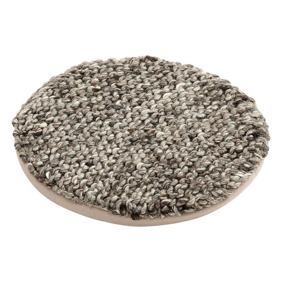 Brafab Pego kudde/sittdyna Ø36 cm grå