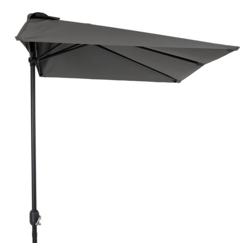 Brafab Cambre parasoll 250x130 cm antracit/grå