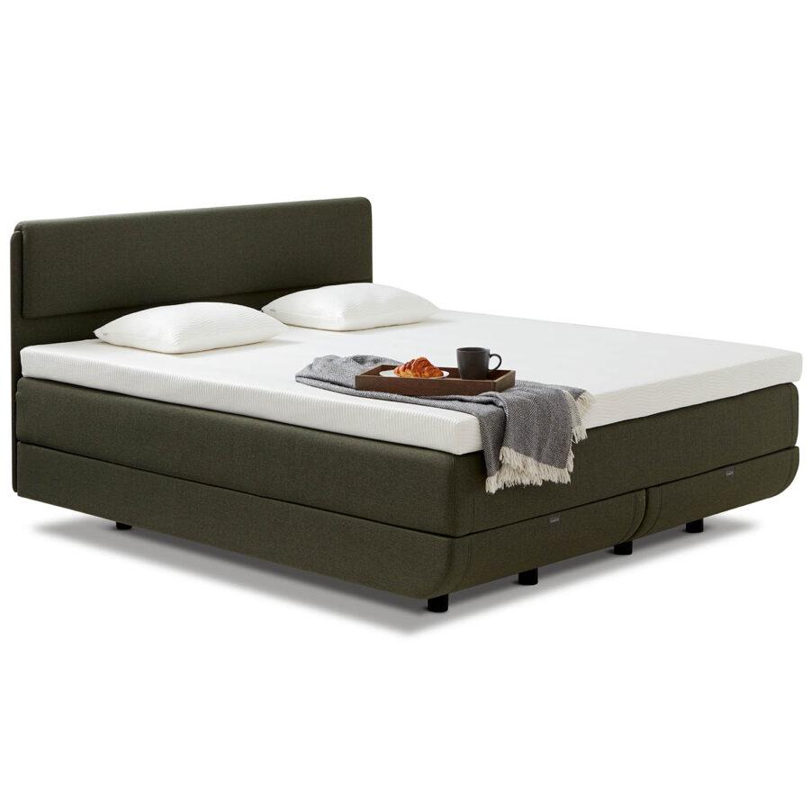 Tempur North Deluxe säng med designsänggavel.