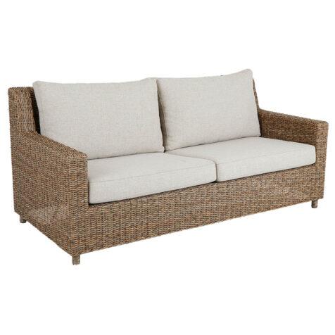 Brafab Sandkorn 2,5-sits soffa natur