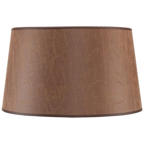 Artwood Classic lampskärm leather brown Ø30-35 cm