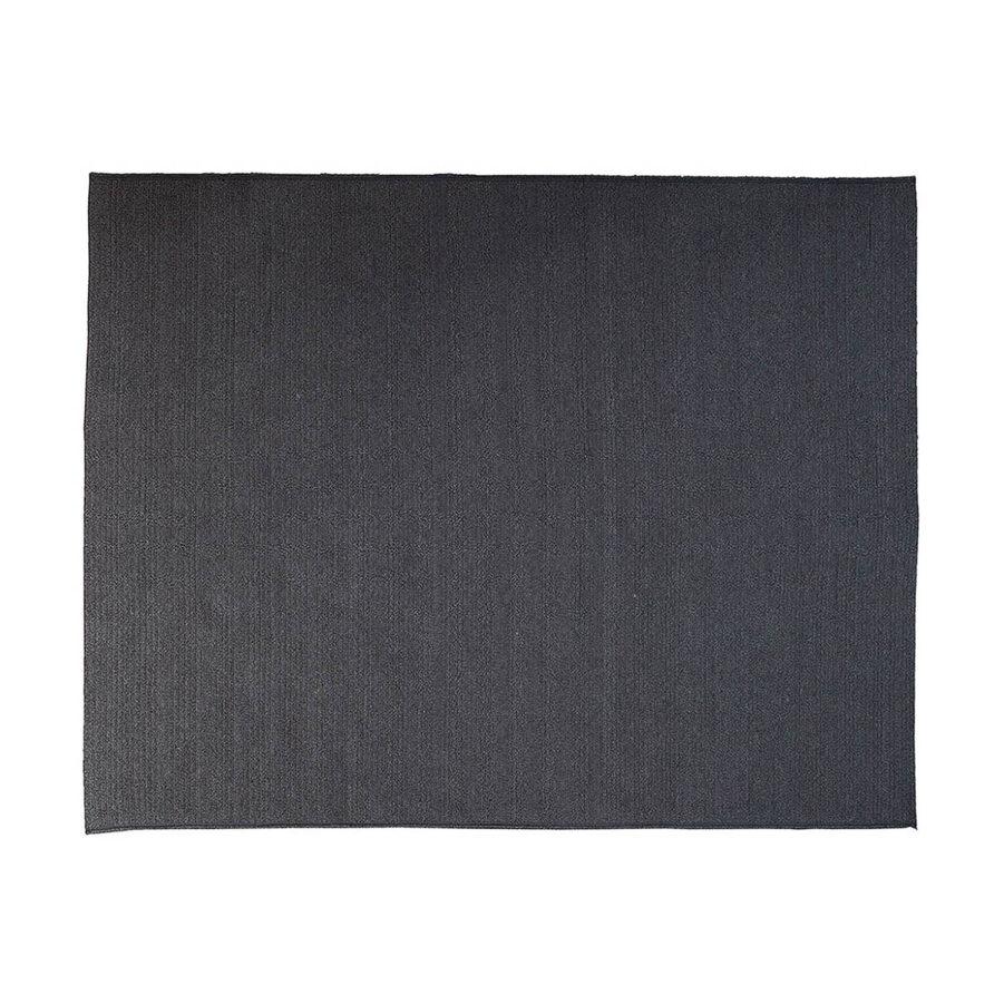 Circle matta rektangulär i mörkgrått.