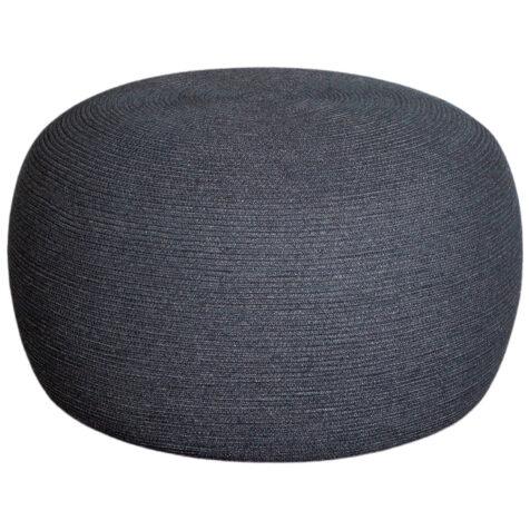 Circle pall i mörkgrått.