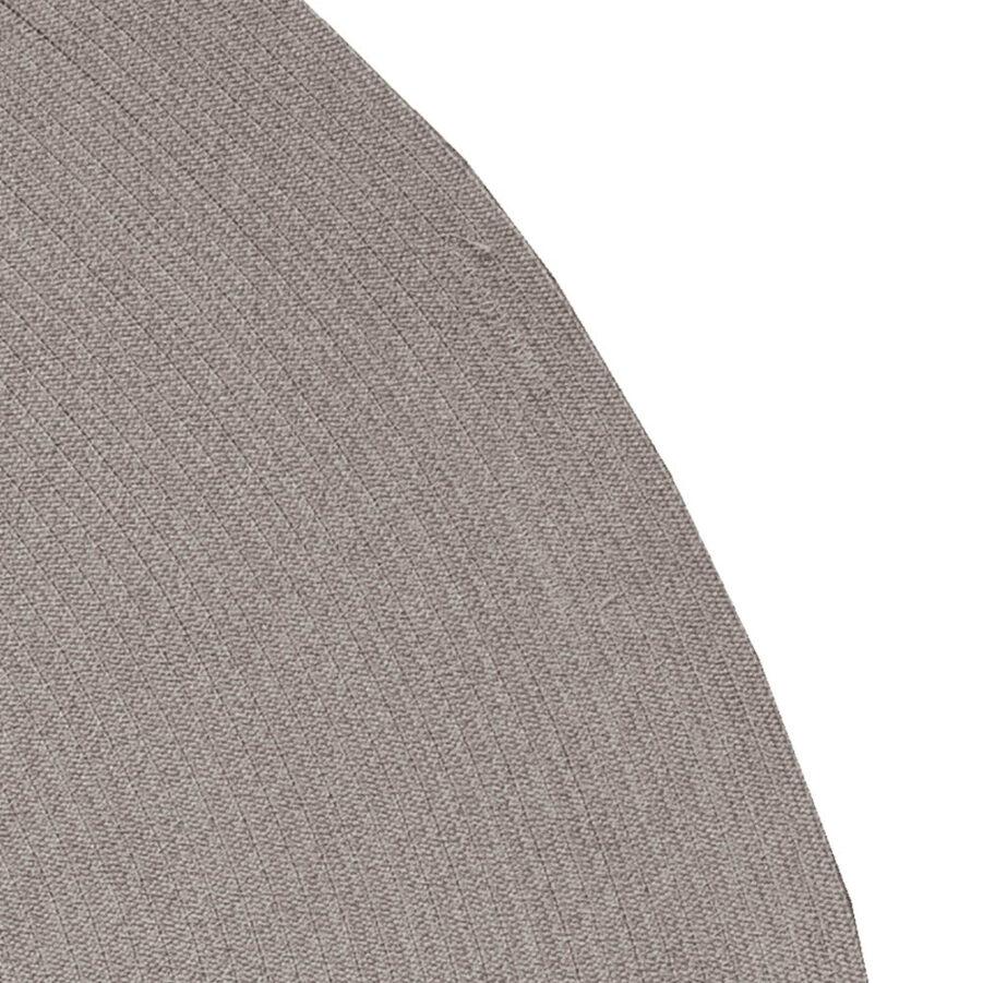 Circle matta 200 cm i färgen taupe.