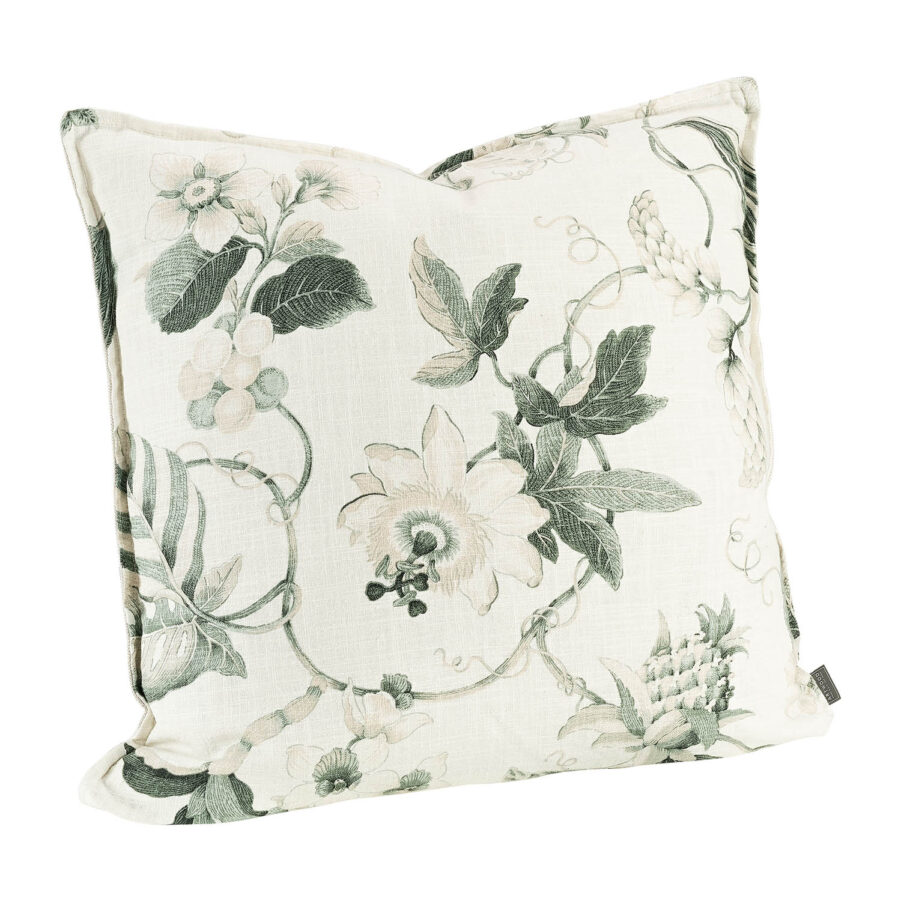 Artwood Mabelle kuddfodral offwhite/green