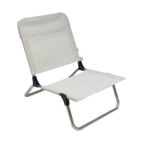 Quick strandstol i beige.