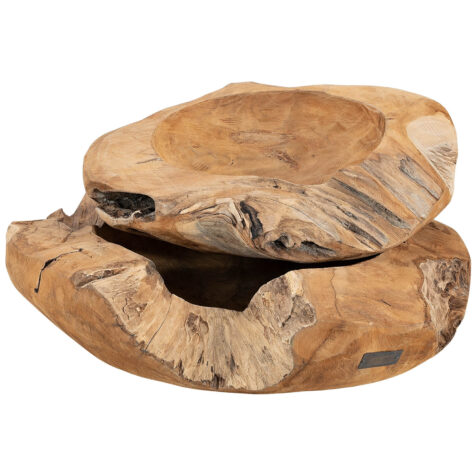 Artwood Root skål 2-set natur