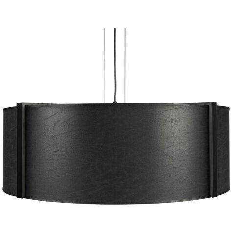 Artwood Calgary taklampa Ø82 cm black leather
