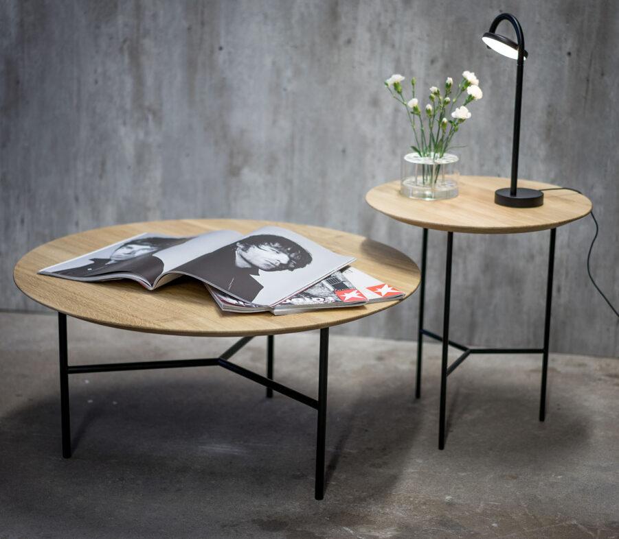 Miljöbild på Tribeca soffbord och sidobord..