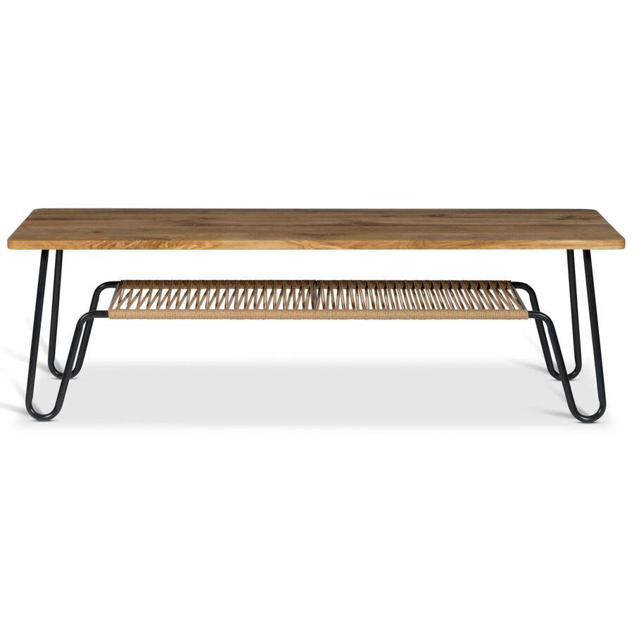 MArcel soffbord i oljad ek i storleken 160x50 cm.
