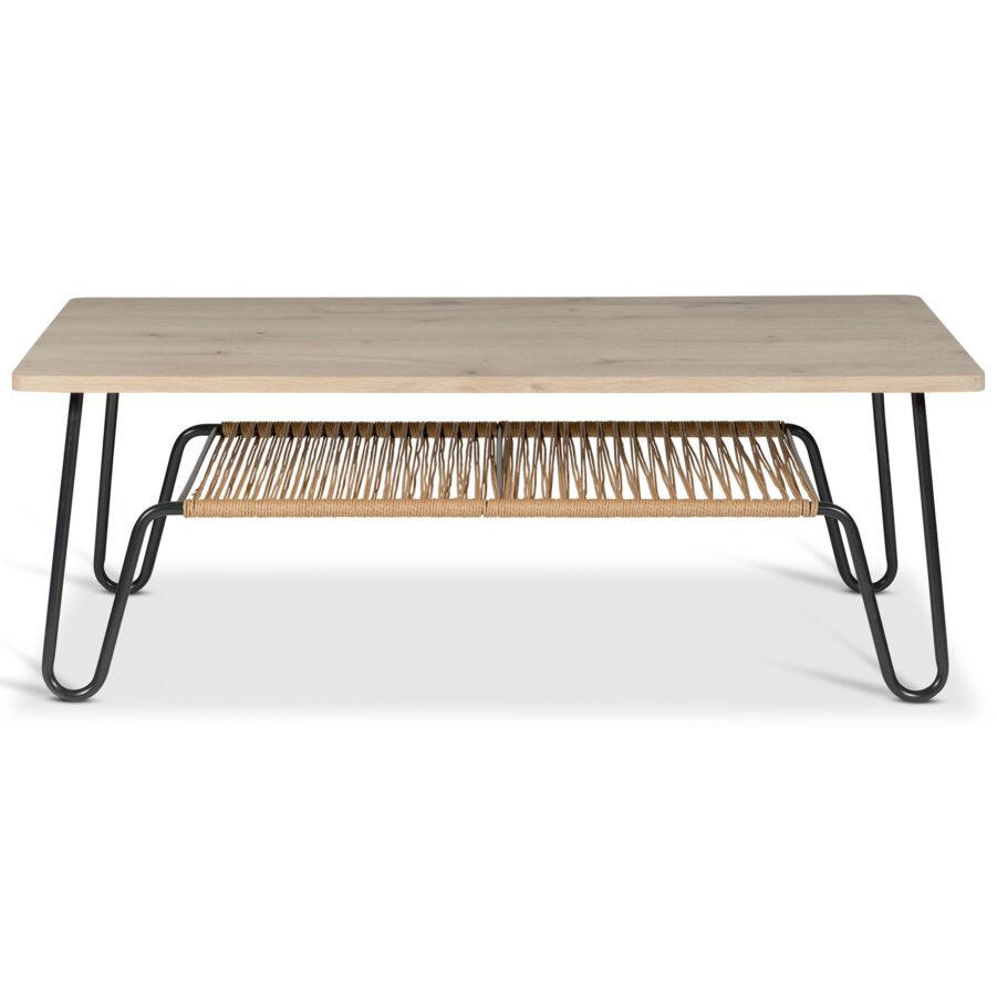 Marcel soffbord i såpad ek i storleken 140x70 cm.