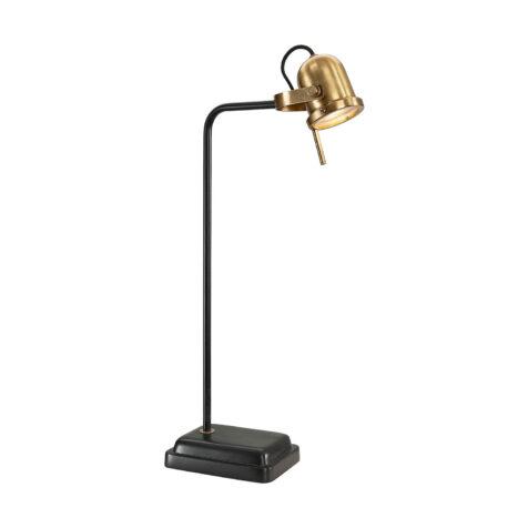 Artwood Leipzig bordslampa svart/mässing