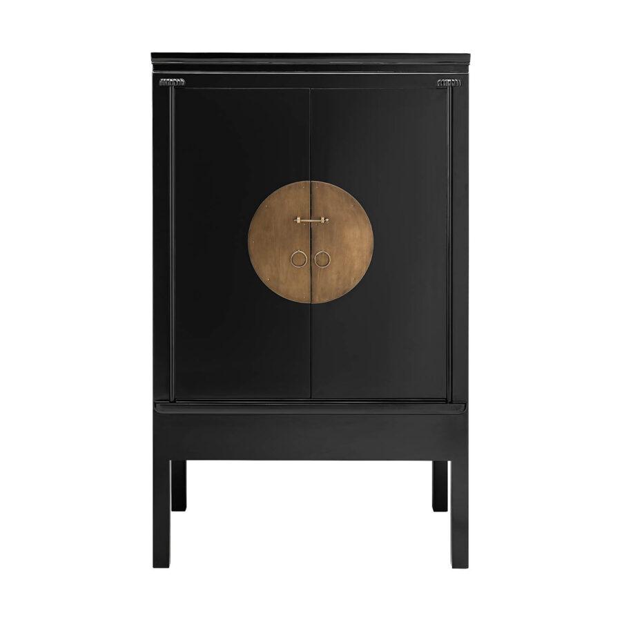 Artwood Macao skåp 106x60 cm svart