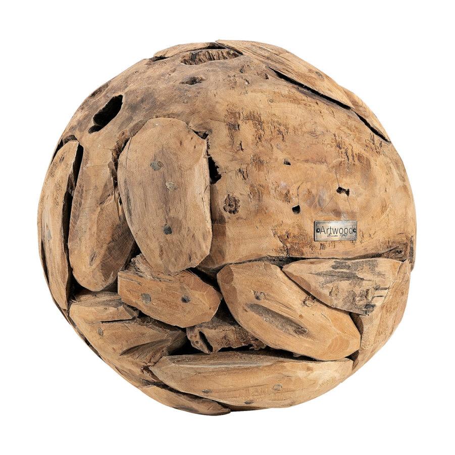 Artwood Vail globe dekoration medium natur