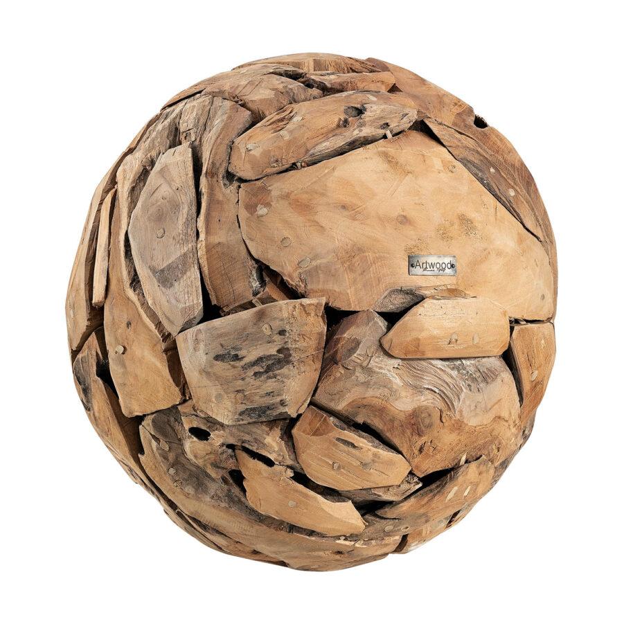 Artwood Vail globe dekoration stor natur