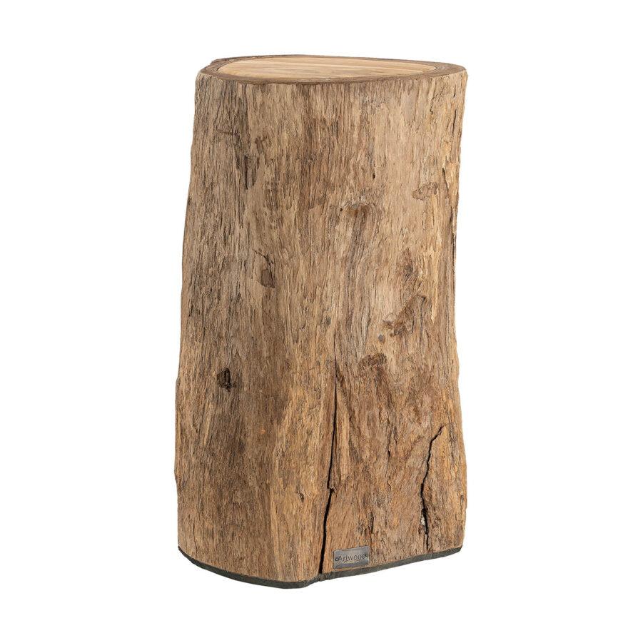 Artwood Colorado sidobord/pall natur teak 50 cm