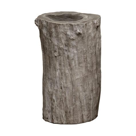 Artwood Colorado sidobord/pall charcoal teak 50 cm