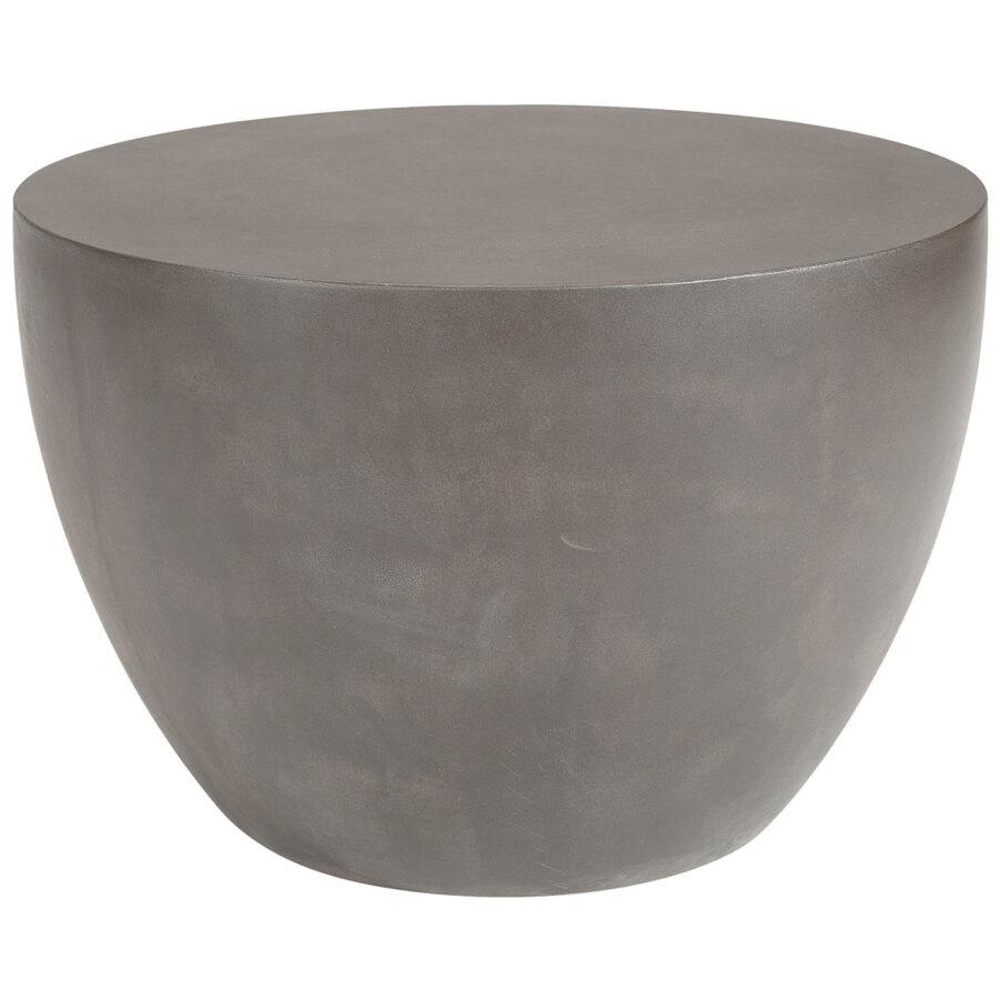 Artwood-Luna sidobord ljusgrå Ø60 cm