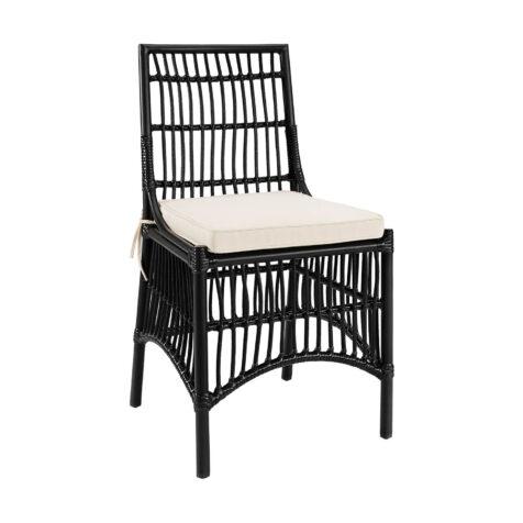 Artwood Modest matstol svart inkl. sittdyna