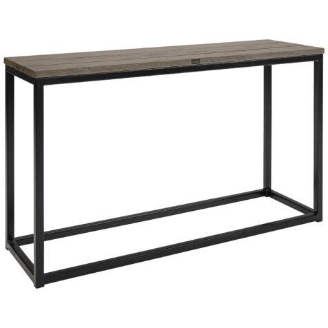 Artwood Anson konsolbord charcoal teak 130x40 cm