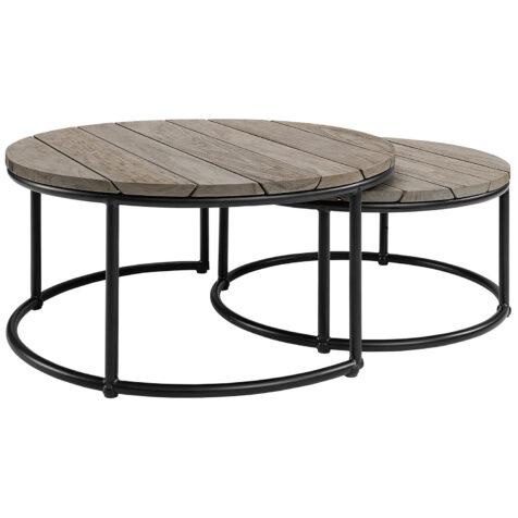 Artwood Anson soffbord charcoal teak set