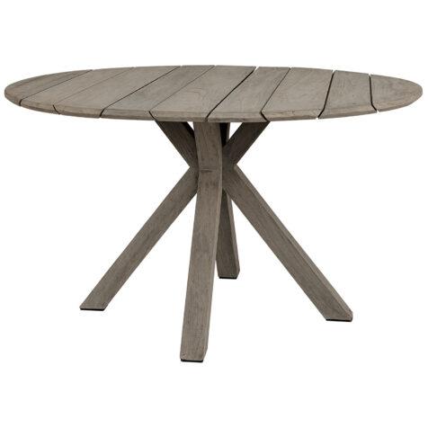 Artwood Macan matbord charcoal teak Ø130 cm