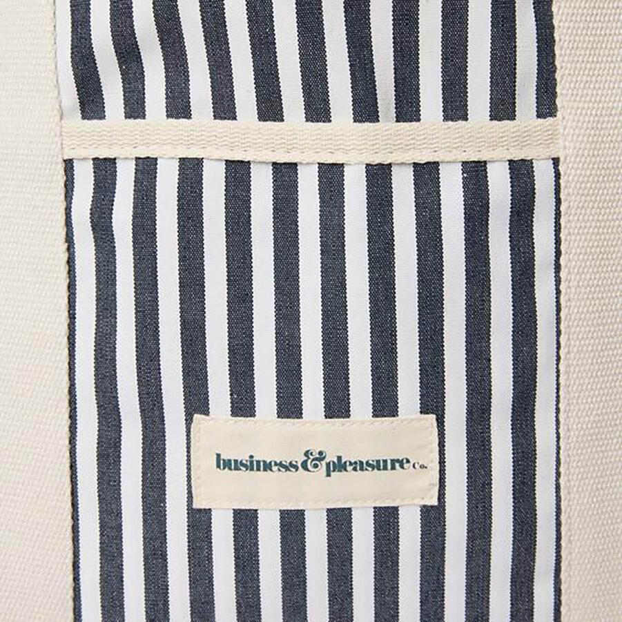Business and pleasure Strandväska Laurens blårandig