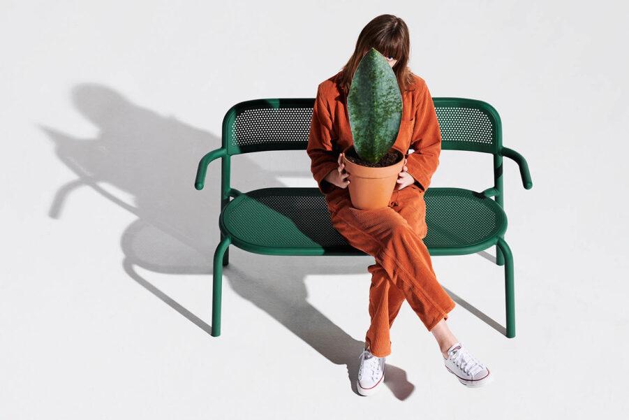 Fatboy Toní Bankski soffa pine green