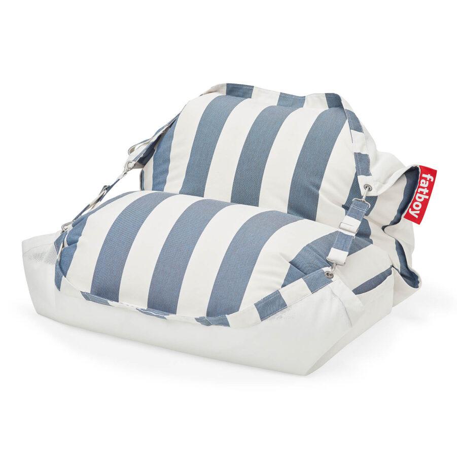 Fatboy Floatzac stripe ocean blue