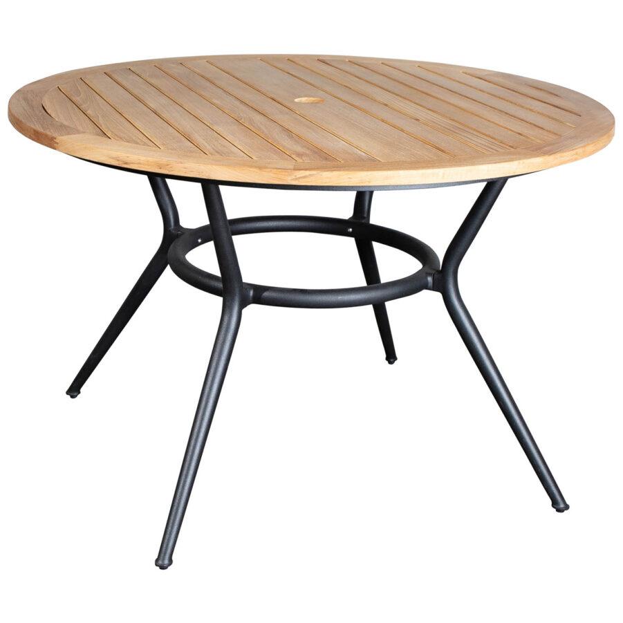 Joy matbord i aluminium och teak från Cane-Line.