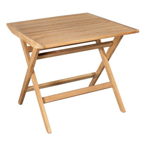 Bild på Flip kvadratiskt bord i teak.