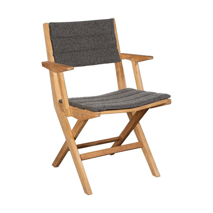 Bild på Flip hopfällbar karmstol med dyna.