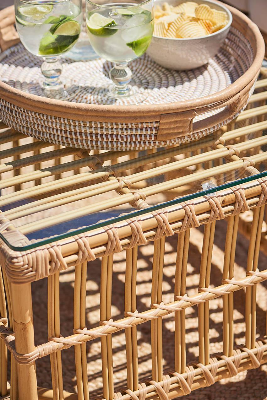 Sika-Design Caroline Exterior soffbord narur 60x60 cm