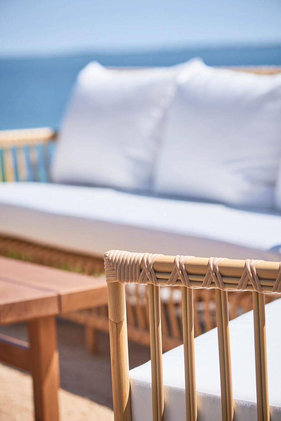 Sika-Design Caroline Exterior soffa natur inkl. dyna