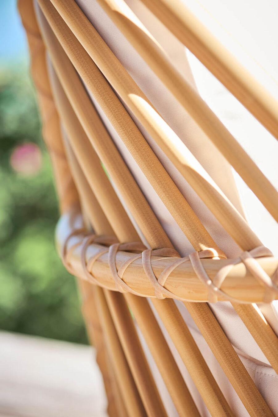Sika-Design Charlottenborg Exterior fåtölj natur