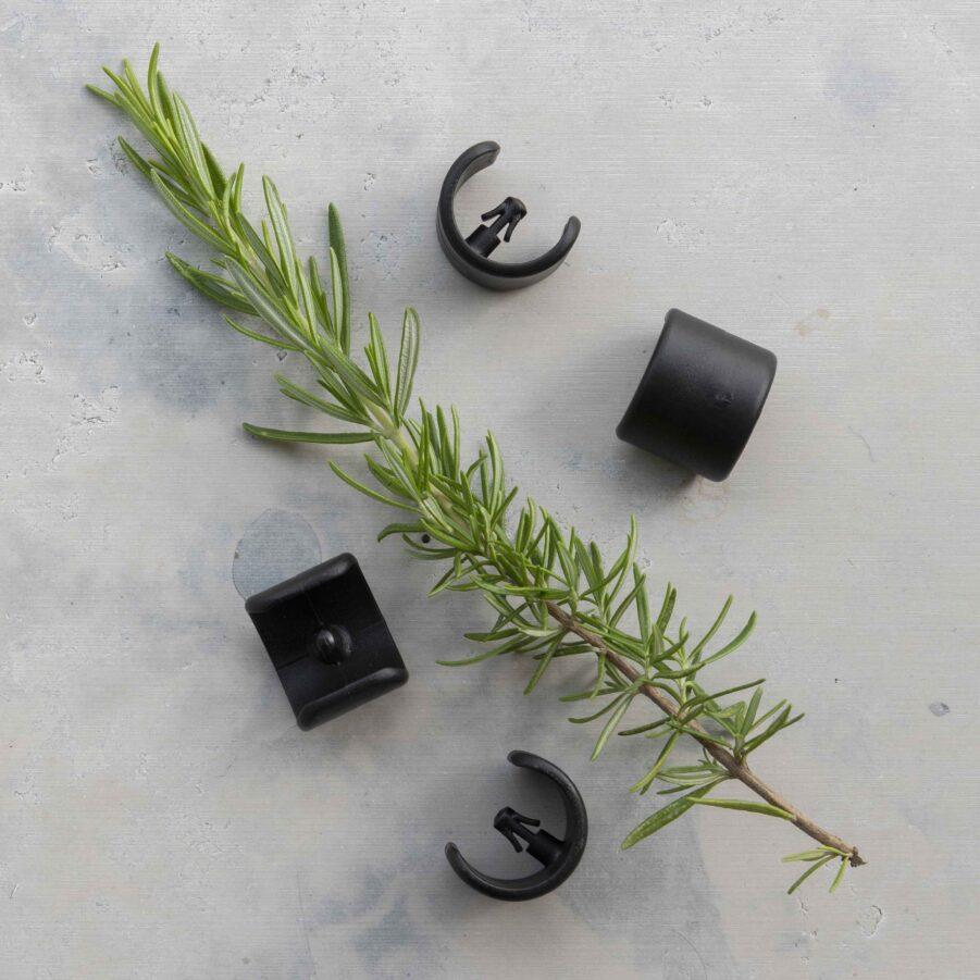 Lafuma fötter 20mm i svart.