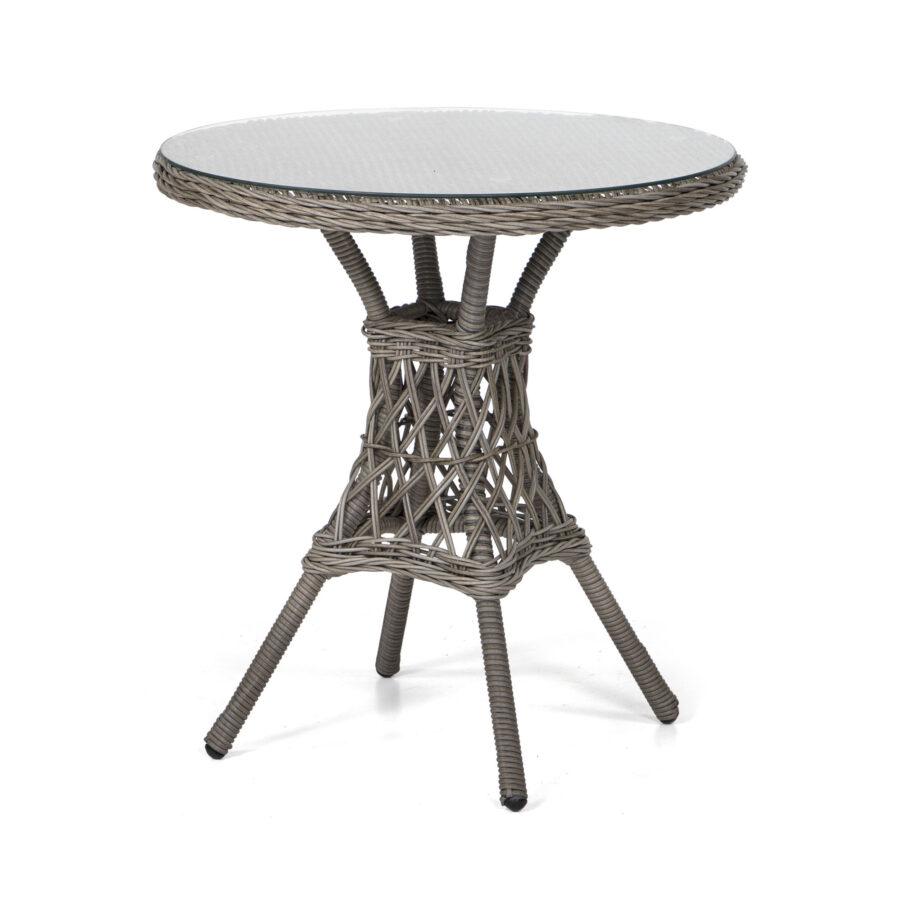Marienlyst cafebord i drivvedsfärgad konstrotting.