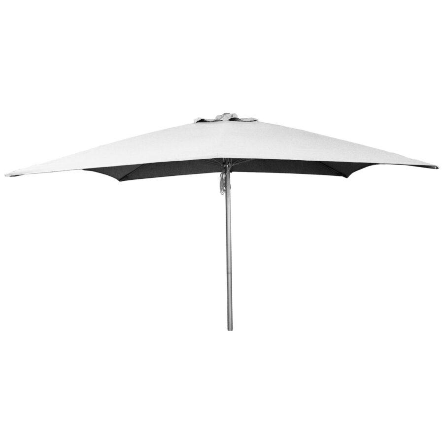 Shadow parasoll från Cane-Line i färgen ljusgrå.