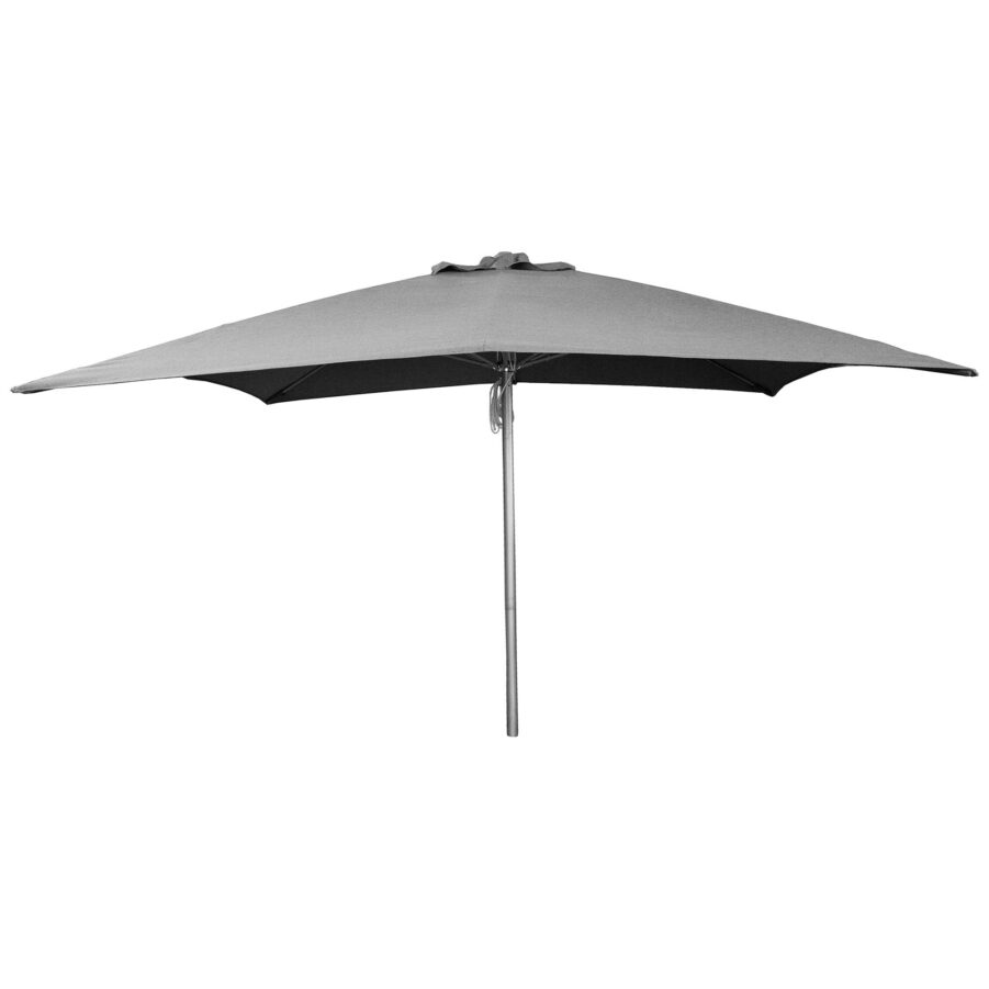 Shadow parasoll från Cane-Line i storleken 200x200 cm.