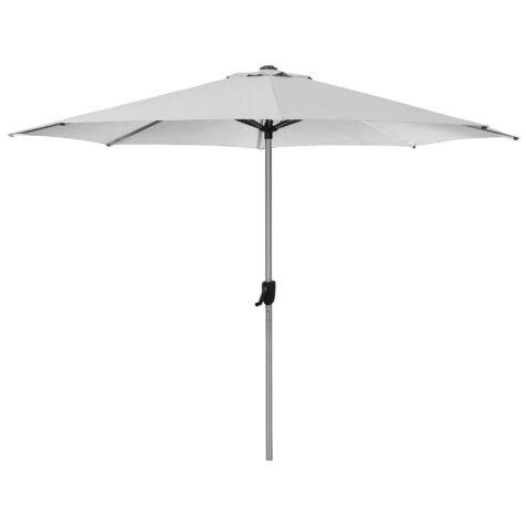 Sunshade parasoll i vitt.