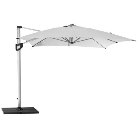 Hyde Luxe parasoll i vitt.