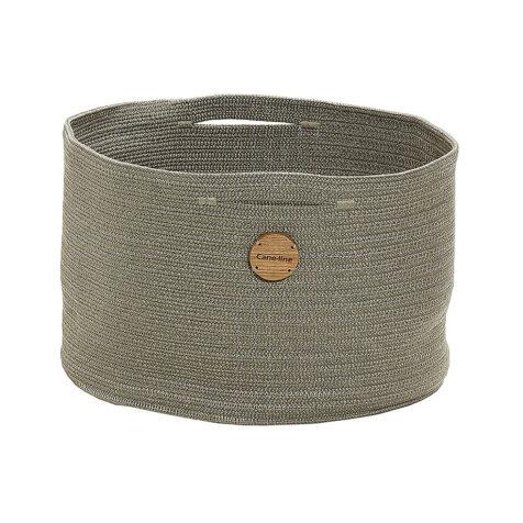 Soft korg i färgen taupe från Cane-Line.