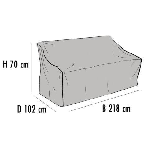 Brafab Möbelskydd för soffor 218x102 cm höjd 70 cm