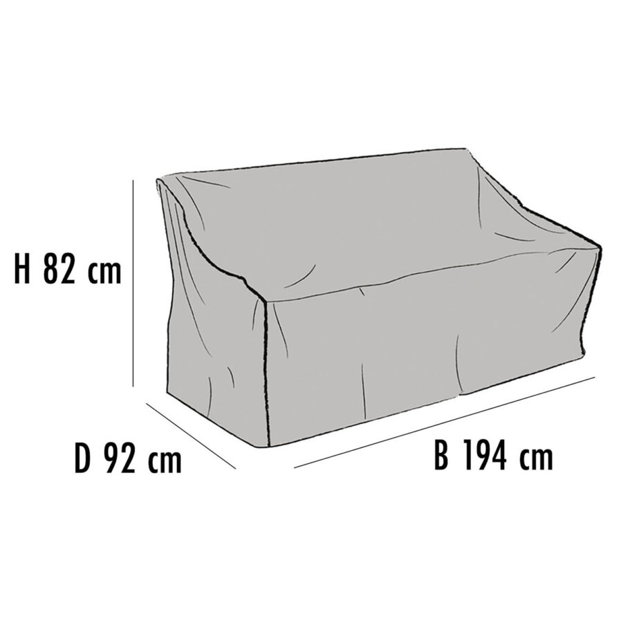 Brafab Möbelskydd för soffor 194x92 cm höjd 82 cm