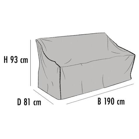 Brafab Möbelskydd för soffor 190x81 cm höjd 93 cm