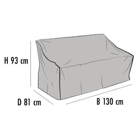 Brafab Möbelskydd för soffor 130x81 cm höjd 93 cm