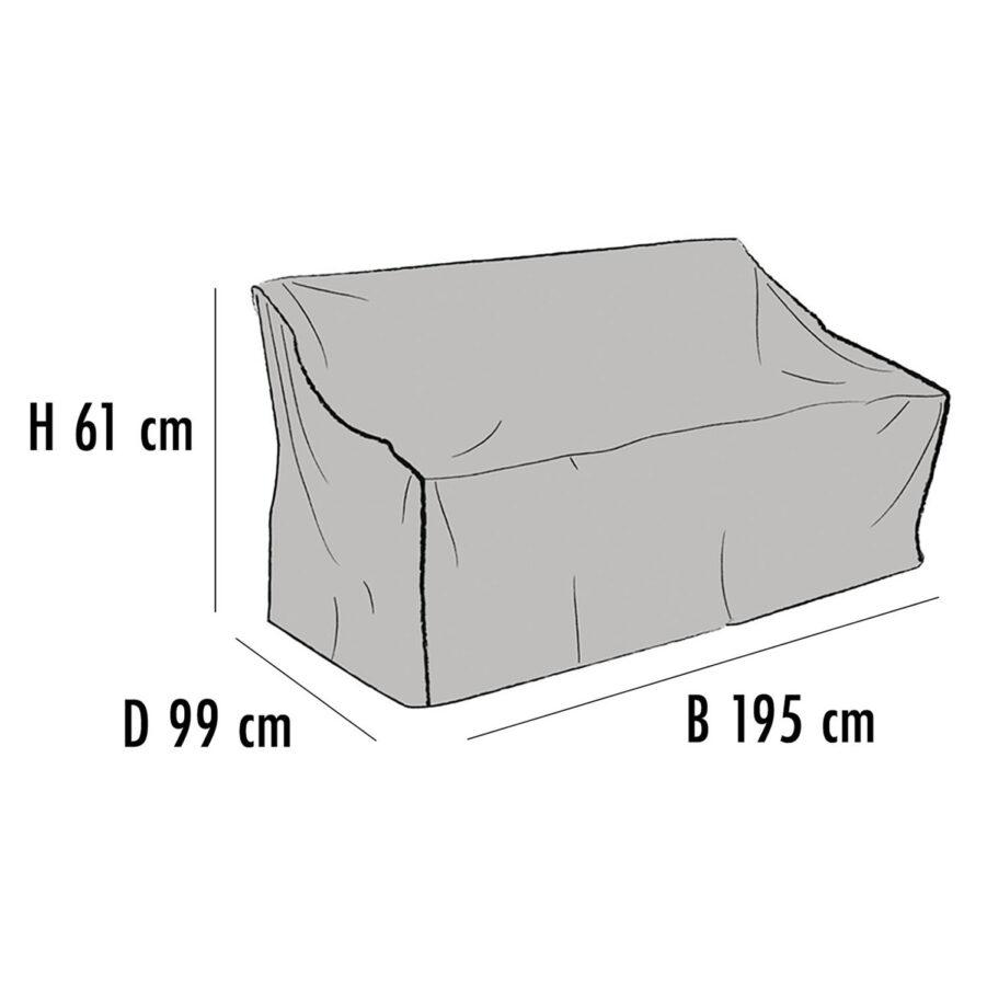 Brafab Möbelskydd för soffor 195x99 cm höjd 61 cm