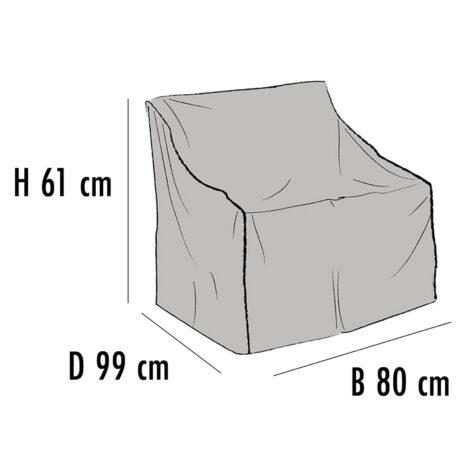 Brafab Möbelskydd för fåtöljer 80x99 cm höjd 61 cm