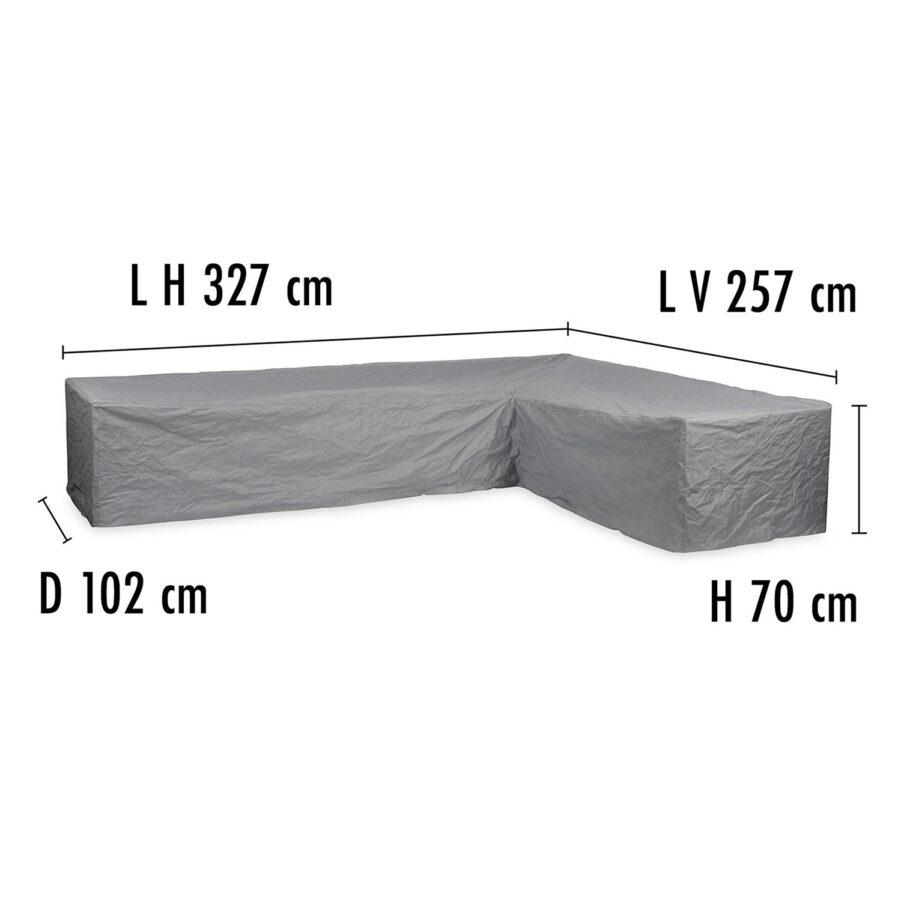 Brafab Hörnsoffskydd 257V/327H höjd 70 cm